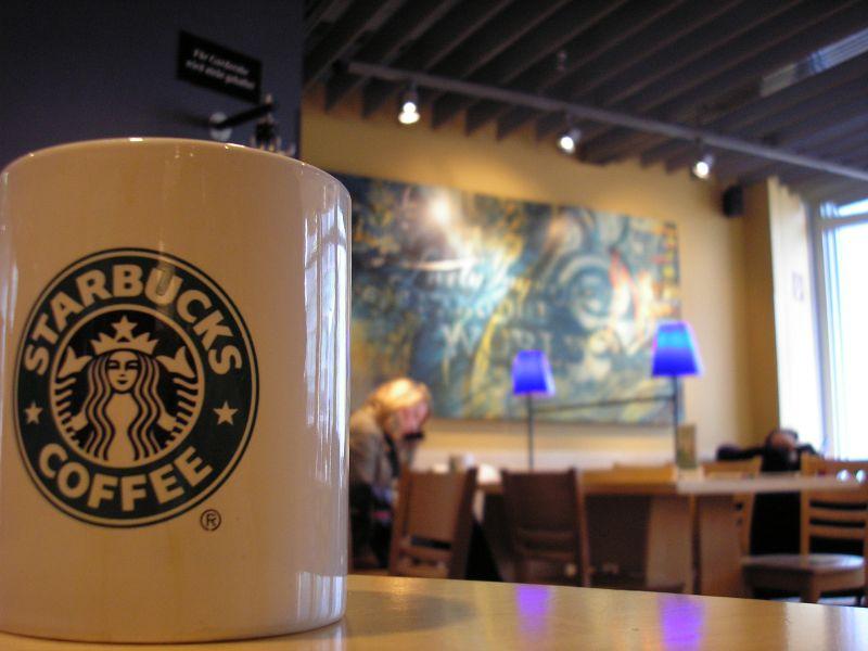 Starbucks by way of generic stock photo